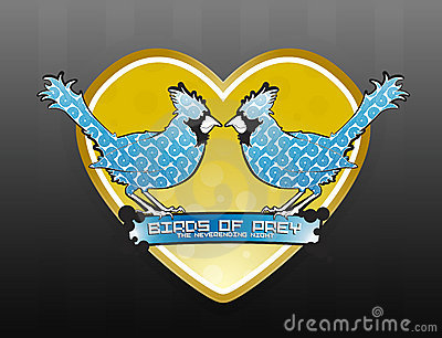 Loving birds design