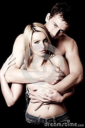 Free Loving Couple Royalty Free Stock Image - 12940986