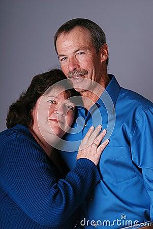 Loving couple.