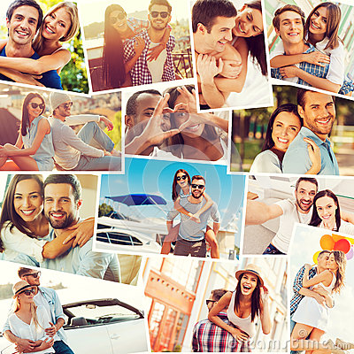 Free Loving Couples. Royalty Free Stock Photography - 61641887