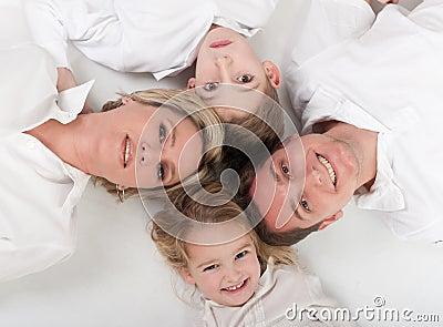 Loving family circle