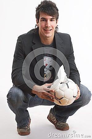 Free Loving Football Stock Photo - 2482730