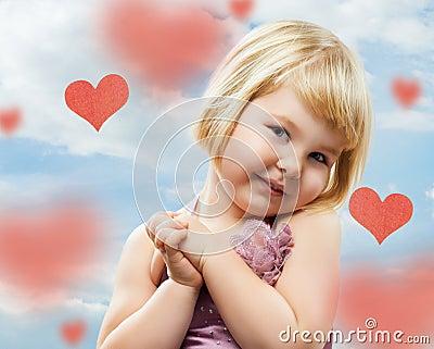 Loving girl