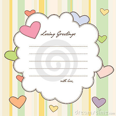 Loving Greetings