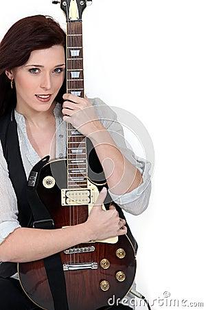 Loving the guitar