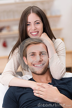 Free Loving Handsome Young Couple Stock Photos - 33773573