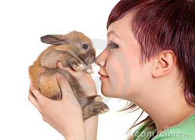 Loving a rabbit