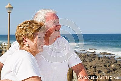 Loving senior citizens