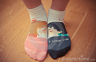 Loving socks