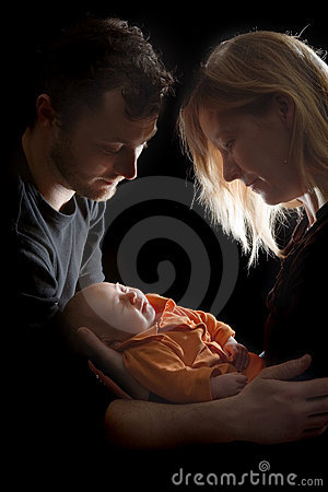 Loving Their Baby Stock Images - Image: 13628444