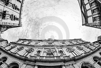 Low Angle Photography Of Buildings Under Dramatic Clouds Free Public Domain Cc0 Image