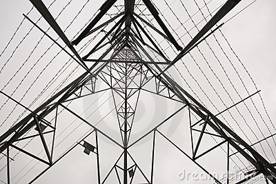 Low angle shot of Electricity Pylon