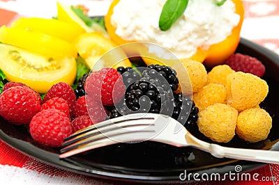 Low Calorie Berry Salad