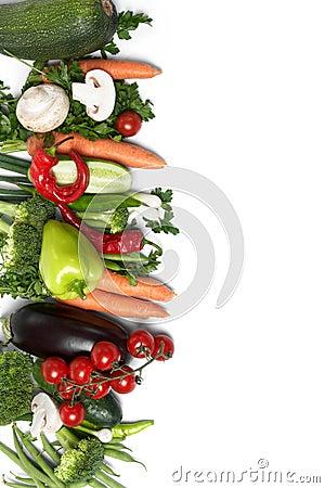Low-calorie vegetables