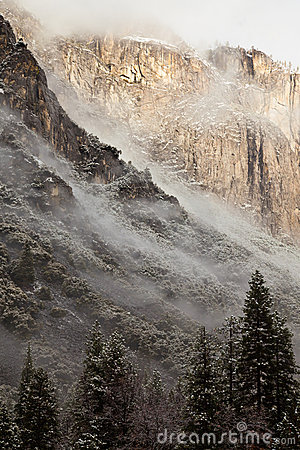 Low Clouds in Yosemite