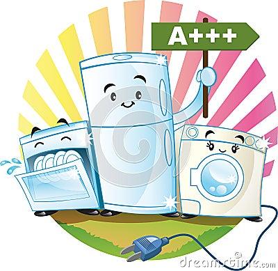 Low-consumption appliances