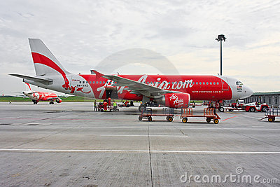 Low Cost Air Asia Company  Editorial Image