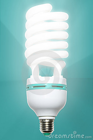 Free Low Energy Light Bulb Royalty Free Stock Photography - 17069787