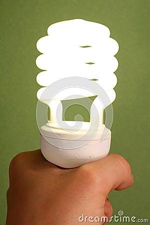 Free Low Energy Light Bulb Stock Image - 4580531