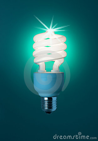Free Low Energy Light Bulb Stock Photography - 5912662