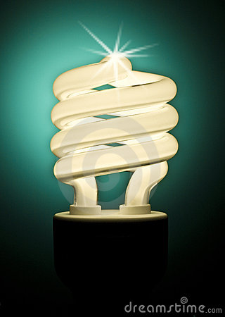 Free Low Energy Light Bulb Royalty Free Stock Images - 5920989