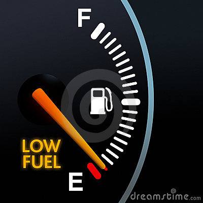 Free Low Fuel Gauge Stock Images - 3795734