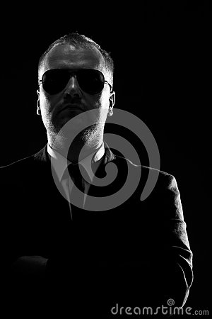 Free Low Key Portrait Of A Man Royalty Free Stock Photography - 26287197