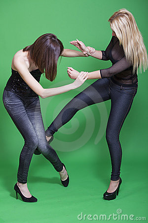 Low kick in self defence