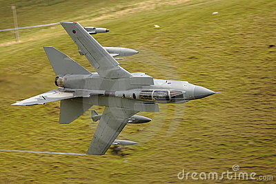 Low level tornado jet fighter