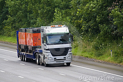 Low Loader Lorry or Truck