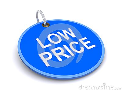 Low price tag