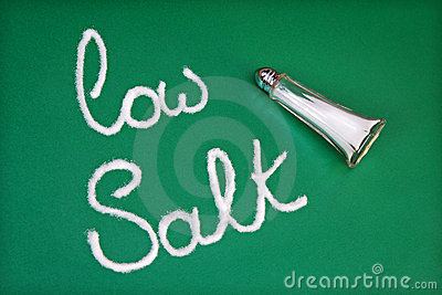 Low salt diet