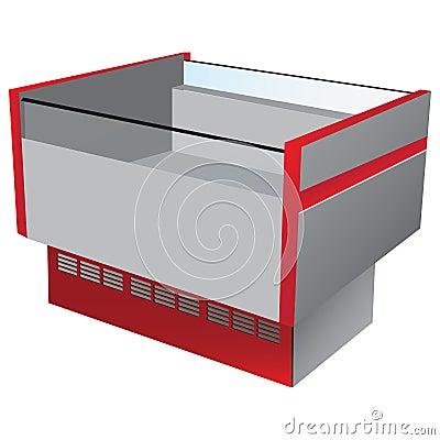 Low temperature refrigerator