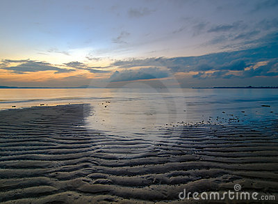 Low Tide at Dawn