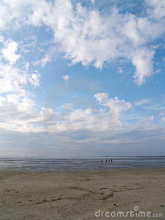 Free Low Tide Tideland Royalty Free Stock Photos - 11680158