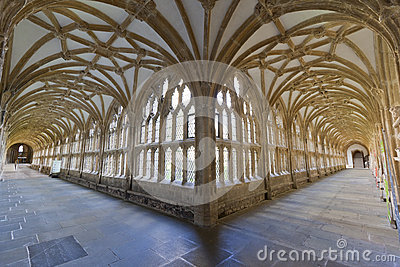 Cloisters at Wells Cathedral