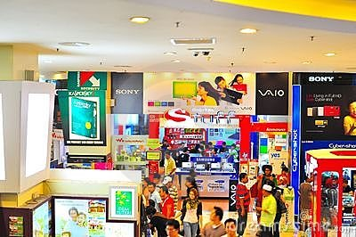 Low Yat Plaza Editorial Stock Photo