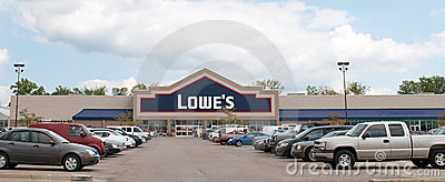 Lowe s Home Improvement Center Editorial Photo