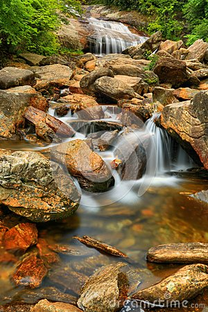 Free Lower Falls At Graveyard Fields Royalty Free Stock Photos - 49071138