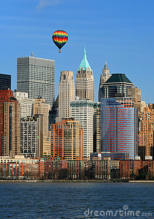 The Lower Manhattan Skyline