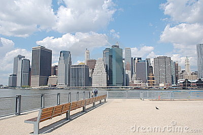 Lower Manhattan Skyline, New York City Editorial Photo