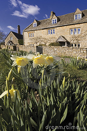 Free Lower Slaughter Village The Cotswolds Gloucestershire The Midlan Royalty Free Stock Photos - 1798908