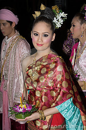 Loy Krathong festival Editorial Image
