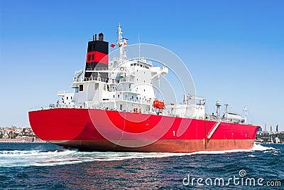 LPG Tanker Ship