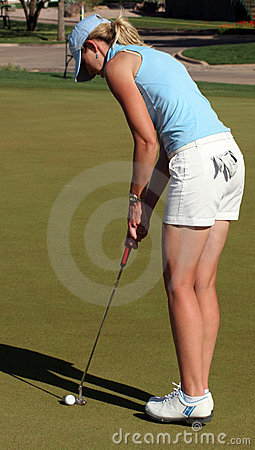 LPGA Pro Golfer Jill McGill Editorial Stock Photo