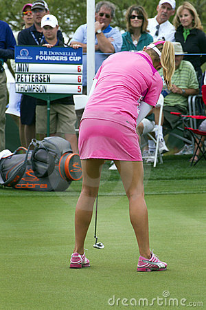 LPGA Womens Golfer Lexi Thompson Editorial Photography