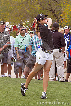 LPGA Womens Golfer Paula Creamer Editorial Image
