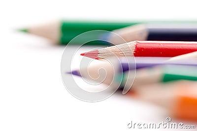 Lápices coloreados