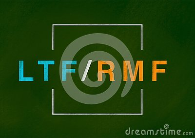 LTF and RMF background concept Cartoon Illustration