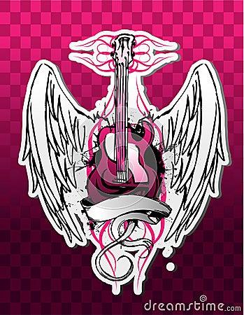 Lättretlig gitarr